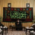 MEETING OF rAZAVI islamic science university's professors with GRAND AYATULLAH hASHEMI sHAHROUDI