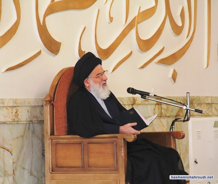 كلمة سماحة آية الله العظمى السيد محمود الهاشمي(مدّظله) في بداية العام الدراسي الجديد  للحوزة العلمية في مدينة قم  المقدسة